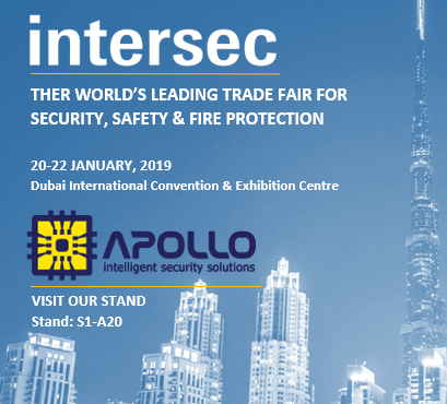 Apollo Security Participates in Intersec 2018