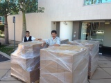 Shipment for another large international project supported by Apollo products